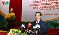 Premierminister Nguyen Tan Dung: Mechanismen für Neugestaltung ländlicher Räume