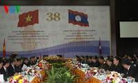 Sitzung der gemeinsamen Kommission der Regierungen von Laos und Vietnam