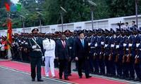 Eindruck der Staatsbesuche des Staatspräsidenten Truong Tan Sang