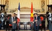 Ho Chi Minh Stadt will Beziehungen zu Regionen in Frankreich vertiefen