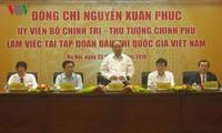 Premierminister Nguyen Xuan Phuc trifft Gremium des Staatsölkonzerns