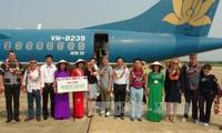 Botschafter der Länder besuchen Son Doong-Höhle