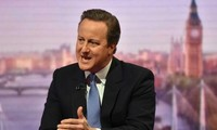 Britischer Premierminister David Cameron beharrt auf Verbleib in der EU