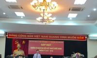 Zusammenarbeit zwischen Abteilung für Aufklärung und Erziehung der Partei und den Auslandsvertretung