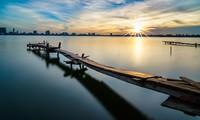 Schöne Landschaften in Vietnam