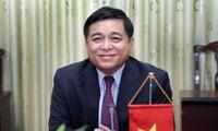 Minister für Planung und Investition Nguyen Chi Dung besucht USA
