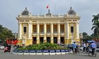 Eindrücke vom architektonischen Erbe Hanois durch Fotos