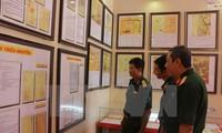 Ausstellung von Landkarten und Dokumente in Can Tho über Hoang Sa und Truong Sa