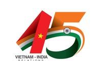 Preise für ein Logo zum 45. Jahrestag der Aufnahme diplomatischer Beziehungen mit Indien