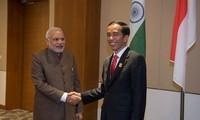 Indien und Indonesien rufen zur friedlichen Lösung der Streitigkeiten im Ostmeer auf