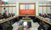 Staatspräsident Tran Dai Quang leitet Sitzung zur Justizreform