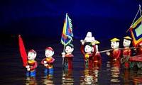 Wasserpuppentheater im Dorf Dao Thuc, Dong Anh, Hanoi