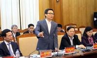 Vizepremierminister Vu Duc Dam besucht Bac Giang
