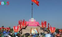 Zeremonie zur Flaggenhissung in Quang Tri