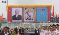 Medien in Kambodscha berichten ausführlich über Besuch des KPV-Generalsekretärs