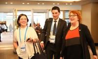 Eröffnung der Sitzung der hochrangigen Beamten der APEC-Länder