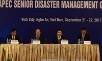 Konferenz hochrangiger Beamten der APEC-Länder über Naturkatastrophenmanagement
