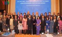 Konferenz zum privat-öffentlichen Dialog über Frauen und Wirtschaft