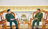 Vietnam und Myanmar wollen die Zusammenarbeit in der Verteidigung vertiefen