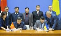 Sitzung der gemeinsamen Regierungskommission zwischen Vietnam und der Ukraine