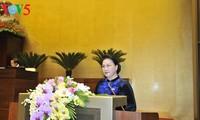Eröffnung der Parlamentssitzung