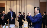 Staatspräsident Tran Dai Quang trifft US-Unternehmer
