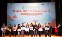 Würdigung der Aktivitäteten der Jugendorganisationen für Gesellschaft