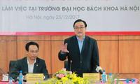 Hanoier Universität ist eine wichtige Ausbildungseinrichtungen