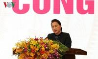 Parlamentspräsidentin Nguyen Thi Kim Ngan: Vietnam erinnert stets der gefallenen Soldaten