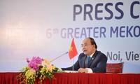 Pressekonferenz über GMS-Gipfeltreffen
