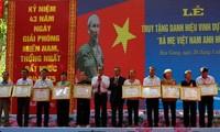 Hau Giang ehrt die Heldenmütter der Provinz