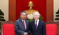 Besondere Freundschaft zwischen Vietnam und Laos vertiefen