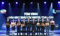 Ehrung des Viettel-Unternehmens für globale Auszeichnung