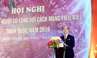 Staatspräsident Tran Dai Quang: Notwendige Begünstigung für Menschen mit Verdiensten