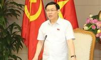 Kommission zur Kapitalverwaltung rechtzeitig im Oktober in Betrieb nehmen lassen