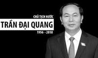 Bürger landesweit trauern um Tod von Staatspräsident Tran Dai Quang