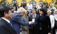 Vizestaatspräsidentin Dang Thi Ngoc Thinh: Vietnam fördert internationalen Austausch von Musik