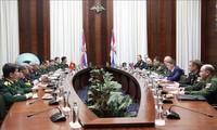 Dialog über strategische Verteidigung zwischen Vietnam und Russland