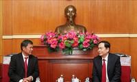 Kommissionen für Frieden und Solidarität von Laos und Vietnam verstärken die Zusammenarbeit