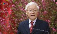 KPV-Generalsekretär, Staatspräsident Nguyen Phu Trong schickt Glückwünsche zum Neujahrsfest Tet