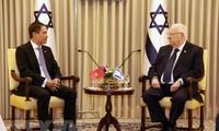 Neuer vietnamesischer Botschafter in Israel Do Minh Hung überreicht Akkreditierung an Staatsoberhaupt
