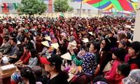 Frühjahrs Dum-Gesang in Haiphong