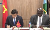 Vietnam und Südsudan nehmen diplomatische Beziehungen auf