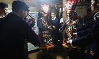 Frühlingsfeste im Kultur- und Tourismusdorf der vietnamesischen Volksgruppen