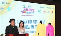 """Kulturaustausch zwischen Vietnam und Japan durch """"Ao dai und Scheinblüte"""""""