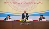 Vollversammlung des Rechtsausschusses zur Reform des Aufbaus und der Verwaltung des Beamtentums