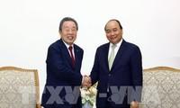 Premierminister Nguyen Xuan Phuc empfängt Vorsitzenden des Maruhan Konzerns