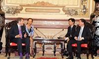 Realisierung der Zusammenarbeit zwischen Ho Chi Minh Stadt und Österreich