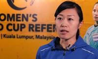 Schiedsrichterinnen aus Japan pfeifen Fußballspiel bei AFC-Cup