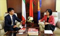 Vietnam und Italien pflegen guten Beziehungen